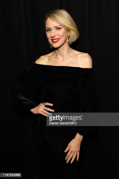 Naomi Watts backstage stage during The Fashion Awards 2019 held at Royal Albert Hall on December 02, 2019 in London, England.