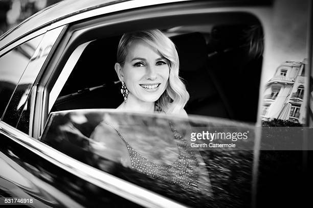 Naomi Watts departs the Martinez Hotel during the 69th annual Cannes Film Festival on May 12 2016 in Cannes France