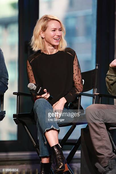 Naomi Watts discusses Demolition at AOL Studios In New York on March 22 2016 in New York City