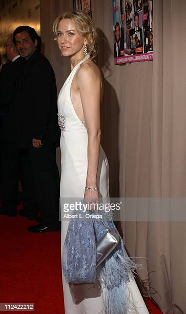 Naomi Watts during 2005 Glamour/Miramax Golden Globes PartyArrivals at Trader Vic's in Beverly Hills CA United States