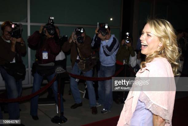 Naomi Watts during Hollywood Film Festival's Opening Night Film World Premiere of The Ring at The ArcLight in Hollywood CA United States