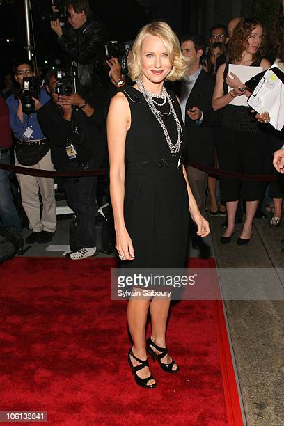 Naomi Watts during 'New Yorkers For Children' Annual Fall Gala Dinner arrivals at Ciprianis 42nd Street in New York New York United States