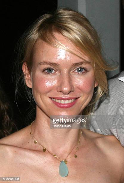 Naomi Watts during Opening Night Afterparty for Macbeth at The Belvedere Castle in Central Park at The Belvedere Castle in Central Park in New York...