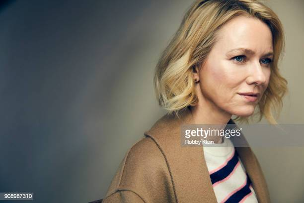 Naomi Watts from the film 'Ophelia' poses for a portrait at the YouTube x Getty Images Portrait Studio at 2018 Sundance Film Festival on January 22...
