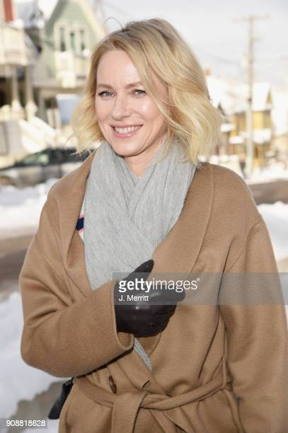 Naomi Watts is seen during SOREL Style Around Park City during the 2018 Sundance Film Festival on January 22 2018 in Park City Utah