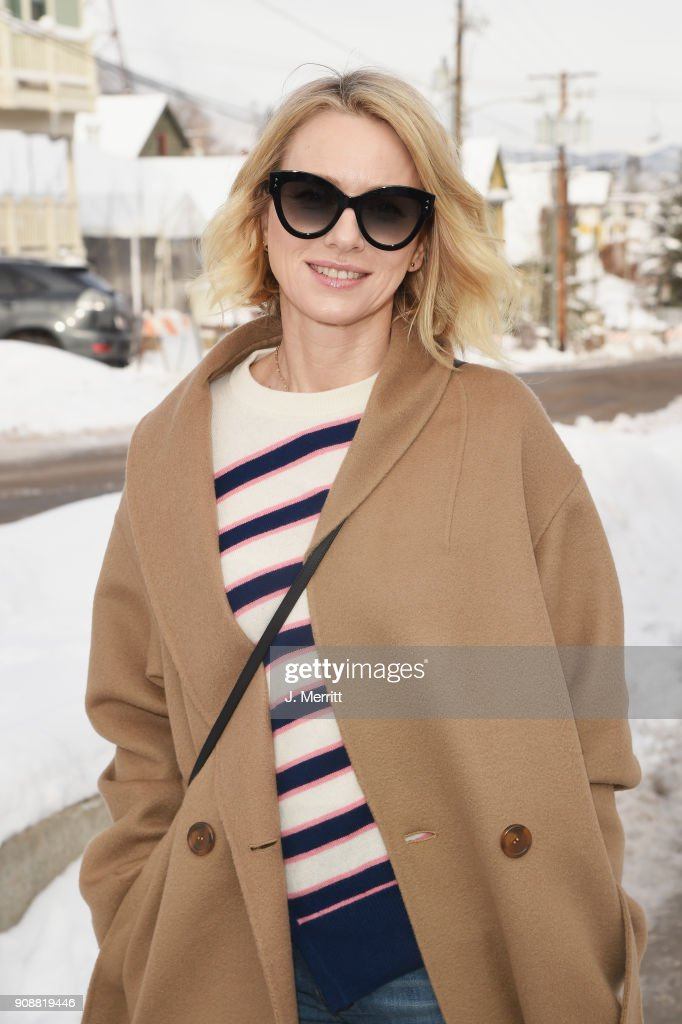 Naomi Watts is seen during SOREL Style Around Park City during the 2018 Sundance Film Festival on January 22, 2018 in Park City, Utah.