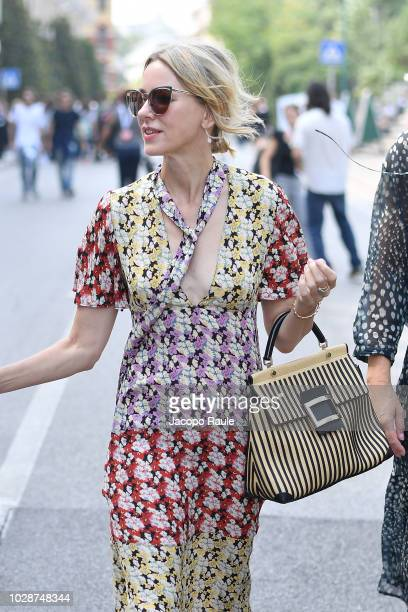 Naomi Watts is seen during the 75th Venice Film Festival on August 31 2018 in Venice Italy