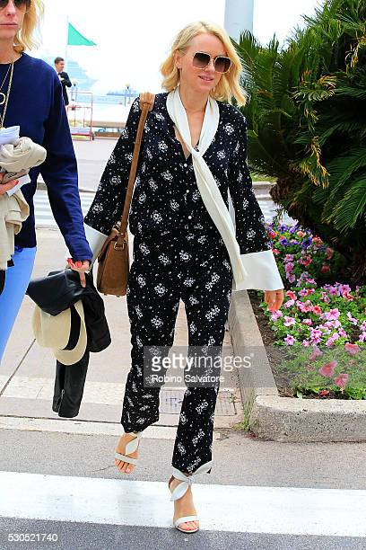 Naomi Watts is seen during the annual 69th Cannes Film Festival at on May 11 2016 in Cannes France