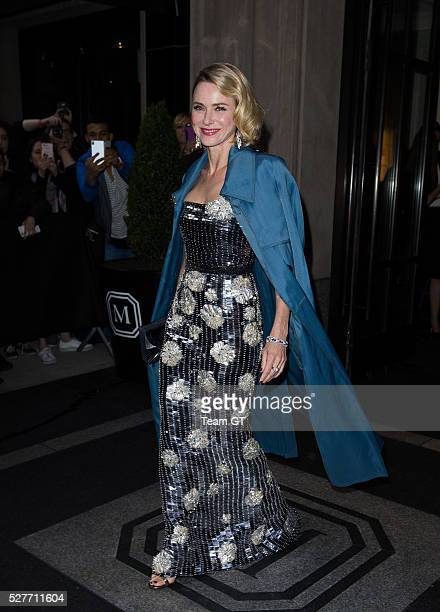 Naomi Watts is seen going to Met Gala on May 2 2016 in New York City
