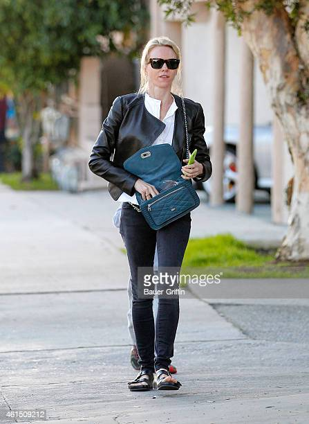 Naomi Watts is seen in Los Angeles on January 13 2015 in Los Angeles California