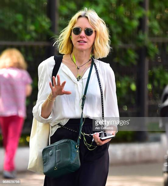 Naomi Watts is seen in Tribeca on May 15 2018 in New York City