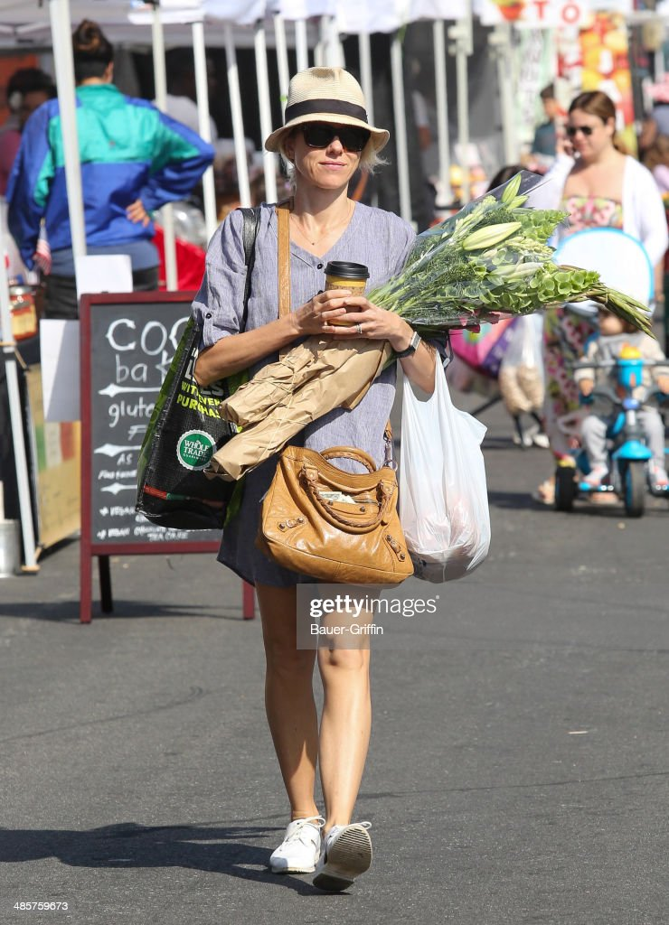 Naomi Watts is seen on April 20, 2014 in Los Angeles, California.