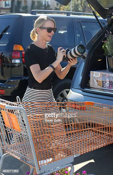 Naomi Watts is seen on January 17 2014 in Los Angeles California