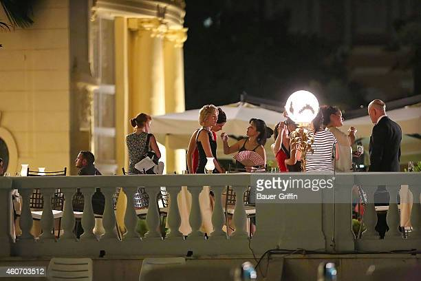 Naomi Watts is seen on the set of 'Diana' on July 03 2012 in Zagreb Croatia