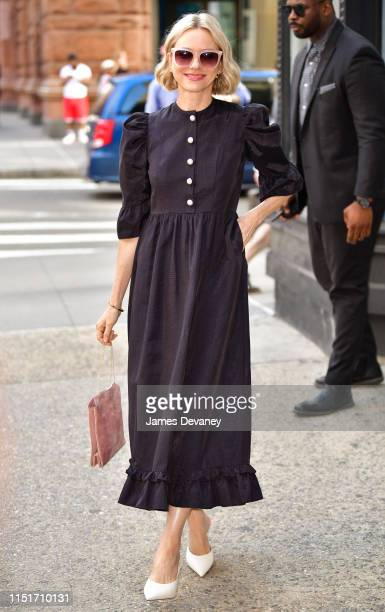Naomi Watts is seen outside the Build Studio on June 24, 2019 in New York City.