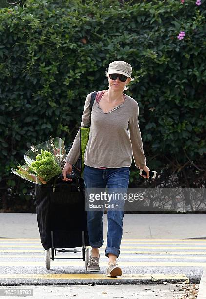 Naomi Watts is seen running errands on January 26 2014 in Los Angeles California