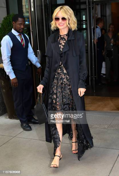 Naomi Watts is seen walking in midtown on July 24, 2019 in New York City.