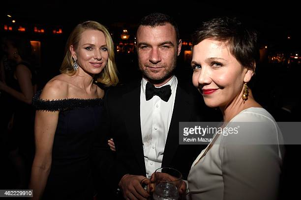 Naomi Watts Liev Schreiber and Maggie Gyllenhaal attend PEOPLE and the Entertainment Industry Foundation host the 21st Annual Screen Actor's Guild...