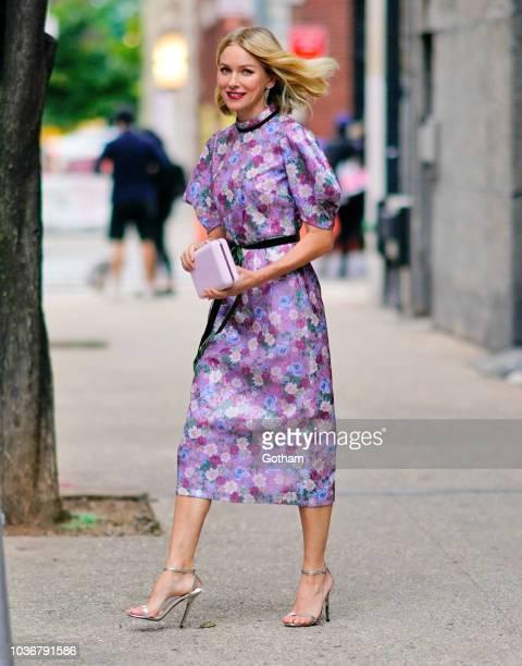 Naomi Watts on September 20 2018 in New York City