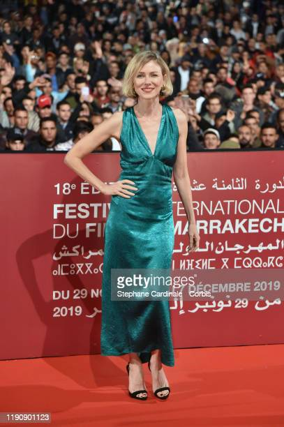 """Naomi Watts presents """"King Kong"""" movie at the Jemaa El Fna Place during the 18th Marrakech International Film Festival - Day One - on November 29,..."""