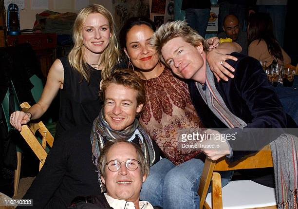 Naomi Watts Rebecca Rigg Scott Coffey director of Ellie Parker Simon Baker and Chevy Chase