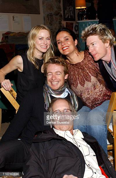 Naomi Watts Rebecca Rigg Scott Coffey director of 'Ellie Parker' Simon Baker and Chevy Chase