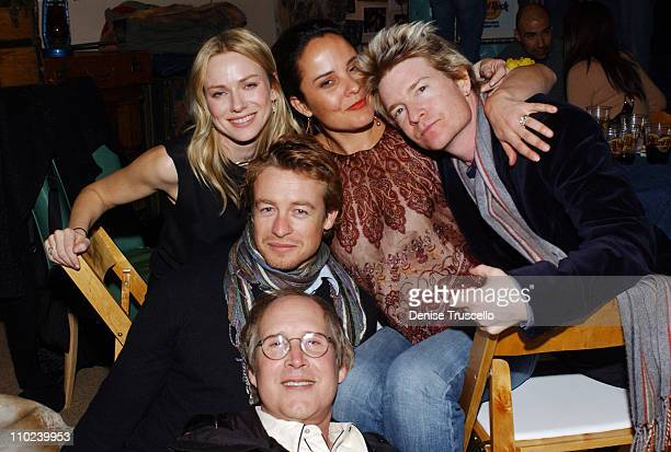 Naomi Watts Rebecca Rigg Scott Coffey Simon Baker and Chevy Chase