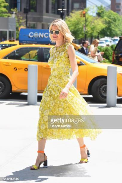 Naomi Watts seen out in Manhattan on May 17 2017 in New York City