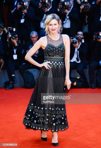 Naomi Watts walks the red carpet ahead of the 'Suspiria' screening during the 75th Venice Film Festival on September 1 2018 in Venice Italy