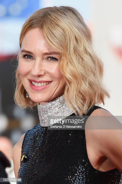 Naomi Watts walks the red carpet ahead of the 'The Nightingale' screening during the 75th Venice Film Festival at Sala Grande on September 6 2018 in...