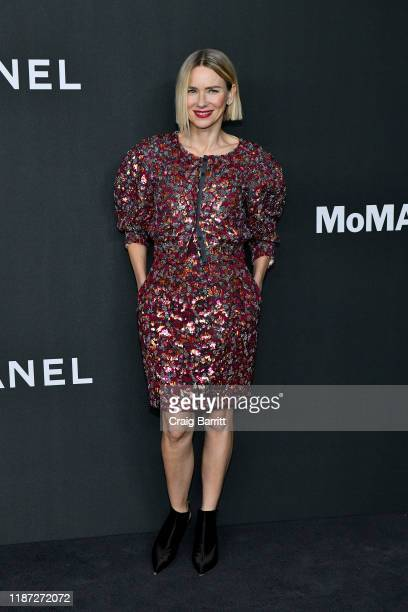 Naomi Watts wearing Chanel attends MoMA's Twelfth Annual Film Benefit Presented By CHANEL Honoring Laura Dern on November 12 2019 in New York City