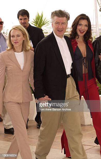 Naomi Watts writerdirector David Lynch and Laura Elena Harring