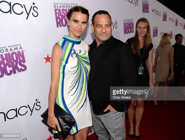 Naomi Wilding and Joel Goldman attend Glamorama Fashion Rocks presented by Macy's Passport at Create Nightclub on September 9 2014 in Los Angeles...