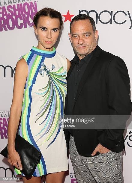 Naomi Wilding and Joel Goldman attend Glamorama 'Fashion Rocks' presented by Macy's Passport at Create Nightclub on September 9 2014 in Los Angeles...