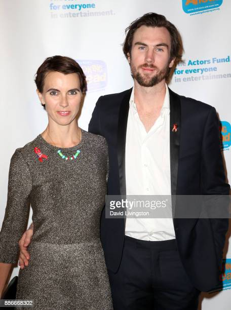 Naomi Wilding and Tarquin Wilding attend The Actors Fund's 2017 Looking Ahead Awards honoring the youth cast of NBC's This Is Us at Taglyan Complex...