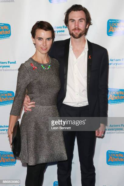 Naomi Wilding and Tarquin Wilding attends The Actors Fund's 2017 Looking Ahead Awards Honoring The Youth Cast Of NBC's This Is Us at Taglyan Complex...