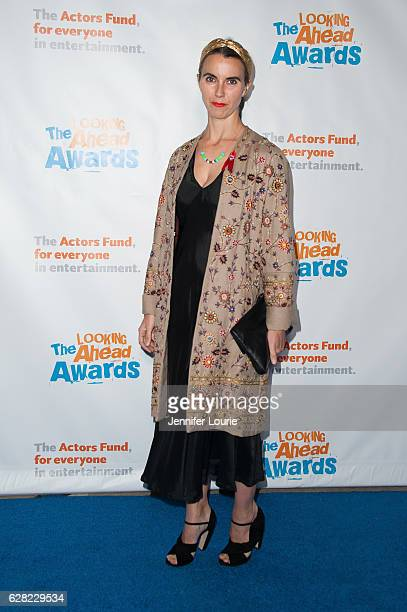 Naomi Wilding arrives at the Actors Fund's 2016 Looking Ahead Awards at the Taglyan Complex on December 6 2016 in Los Angeles California
