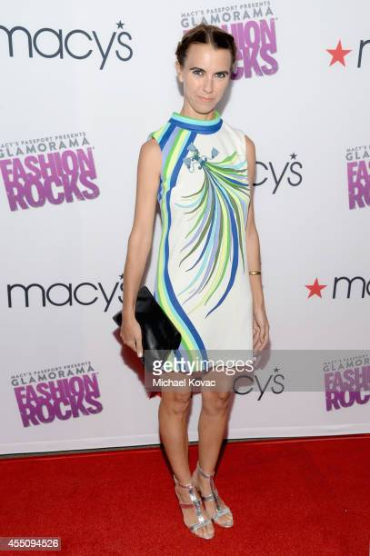 Naomi Wilding attends Glamorama Fashion Rocks presented by Macy's Passport at Create Nightclub on September 9 2014 in Los Angeles California