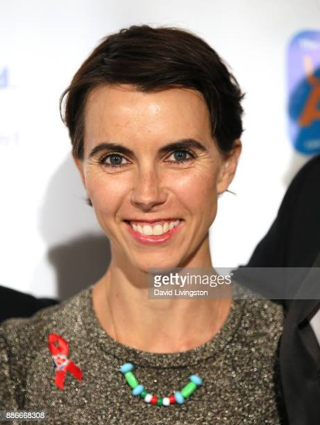 Naomi Wilding attends The Actors Fund's 2017 Looking Ahead Awards honoring the youth cast of NBC's This Is Us at Taglyan Complex on December 5 2017...