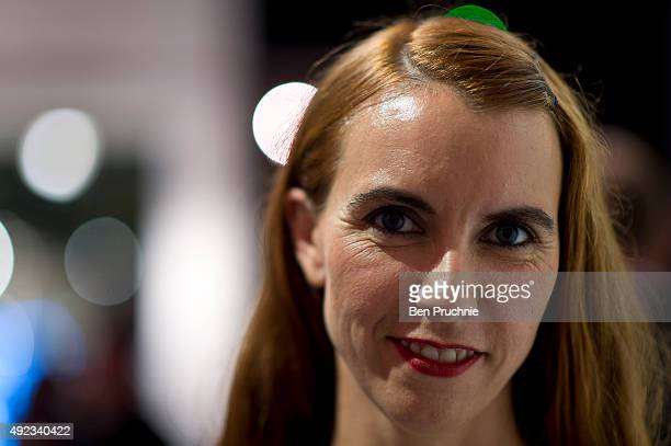 Naomi Wilding attends the private view for The Elizabeth Taylor AIDS Foundation And STOPAIDS exhibition at Getty Images Gallery on October 8 2015 in...