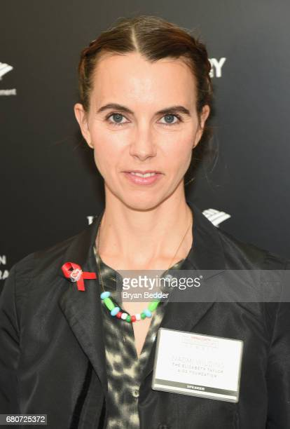 Naomi Wilding of the Elizabeth Taylor AIDS Foundation attends the 4th Annual Town Country Philanthropy Summit at Hearst Tower on May 9 2017 in New...