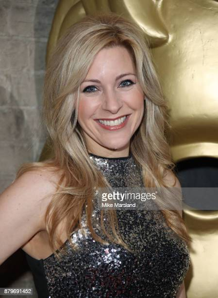 Naomi Wilkinson attends the BAFTA Children's awards at The Roundhouse on November 26 2017 in London England