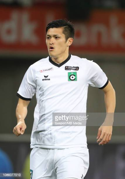 Naomichi Ueda of Cercle during the Jupiler Pro League match between KAA Gent and Cercle Brugge KSV at Ghelamco Arena on December 21 2018 in Gent...