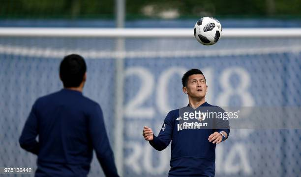 Naomichi Ueda of Japan during the Japan Training Session on June 15 2018 in Kazan Russia