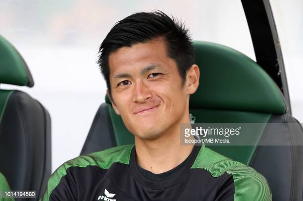 Naomichi Ueda pictured during the Jupiler Pro League match between Cercle Brugge KSV and KSC Lokeren OV at Jan Breydel Stadium on August 4 2018 in...