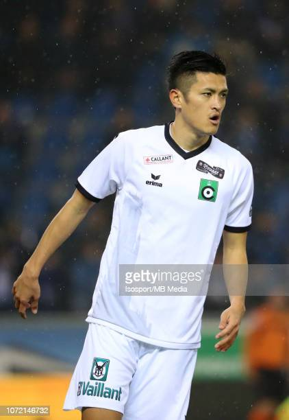 Naomichi Ueda pictured during the Jupiler Pro League match between KRC Genk and Cercle Brugge KSV at Cristal Arena on November 24 2018 in Genk Belgium