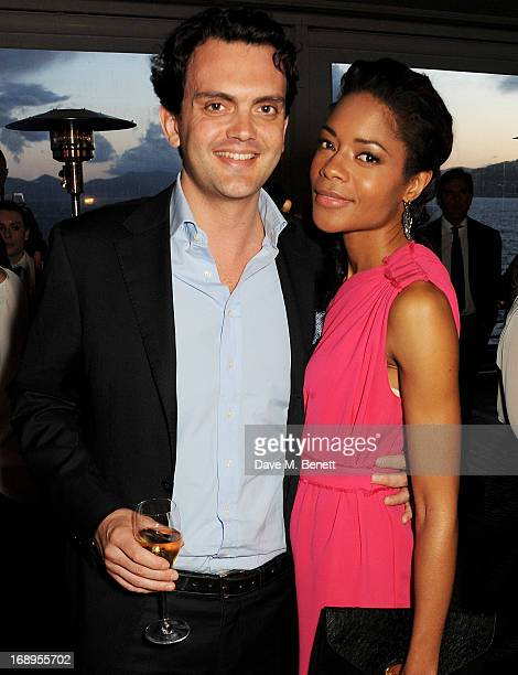 Naomie Harris and Peter Legler attend the annual Finch's Quarterly Review Filmmakers Dinner hosted by Charles Finch Caroline Scheufele and Nick...