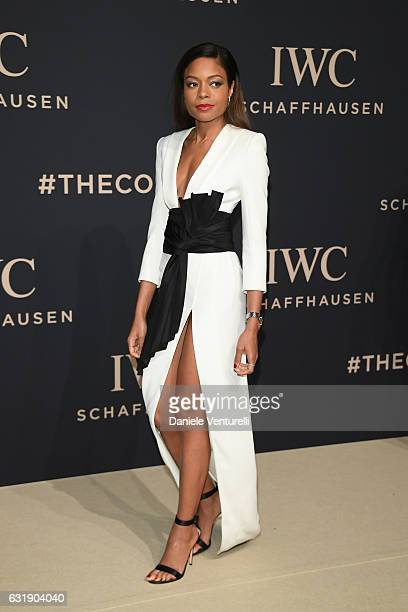 Naomie Harris arrives at IWC Schaffhausen at SIHH 2017 Decoding the Beauty of Time Gala Dinner on January 17 2017 in Geneva Switzerland