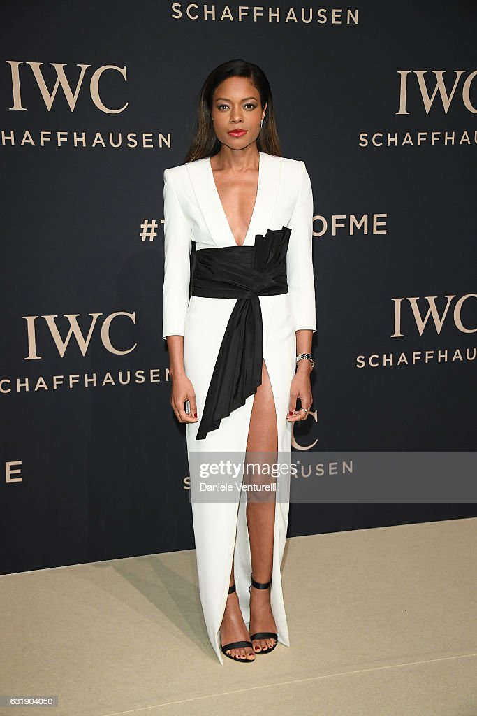 Naomie Harris arrives at IWC Schaffhausen at SIHH 2017 'Decoding the Beauty  of Time'