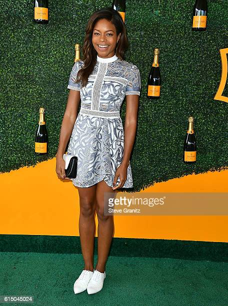 Naomie Harris arrives at the 7th Annual Veuve Clicquot Polo Classic at Will Rogers State Historic Park on October 15 2016 in Pacific Palisades...